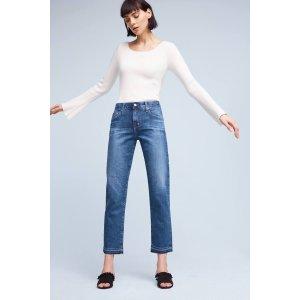 AG Ex-Boyfriend Slim Mid-Rise Jeans | Anthropologie