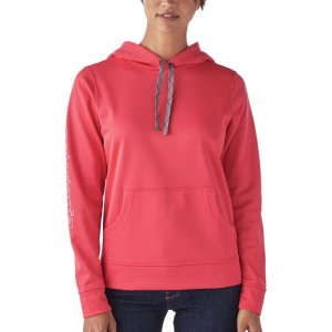 Outline Text Logo Polycycle Hoodie - Women's