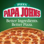 Papa Johns Buy one Pizza