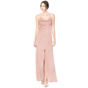 Elza Ft Slit Maxi Dress | Alice + Olivia
