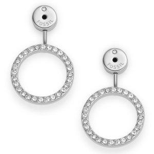 Circular Crystal Ear Jackets