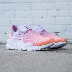 低至5折+包邮小清新配色降价啦!Nike中国官网精选爆红款Sock Dart袜鞋热卖