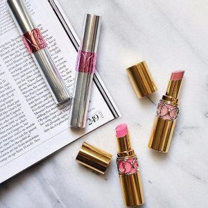 Last Day! 20% Offwith $50 Lipstick Purchase @ YSL Beauty