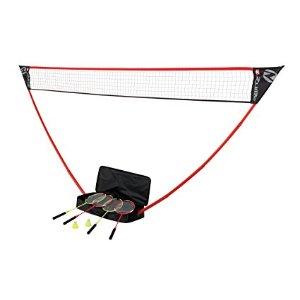 Amazon.com : Zume Games Portable Badminton Set : Badminton Sets : Sports & Outdoors