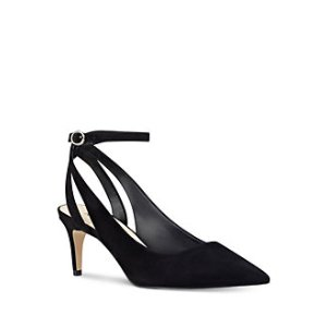 Shawn Suede Sling-Back Pumps