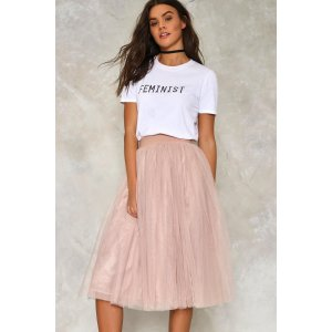 Tulle Cool for Rules Midi Skirt | Shop Clothes at Nasty Gal!