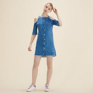 RAKI Denim dress - Dresses - Maje.com