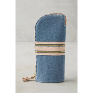 Chambray Pouch | Anthropologie