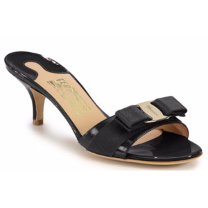 Salvatore Ferragamo - Glory Patent Leather Sandals - saks.com
