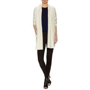 Cozy Robe Wool Hooded Cardigan by Vince at Gilt