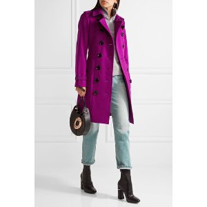 Burberry | The Sandringham cashmere trench coat