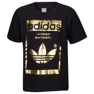 adidas Originals Superstar OG T-Shirt - Boys' Grade School at Kids Foot Locker