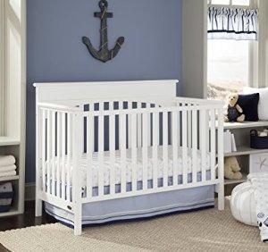 $91.83 史低价Graco Lauren 4合1 多功能婴儿床 白色