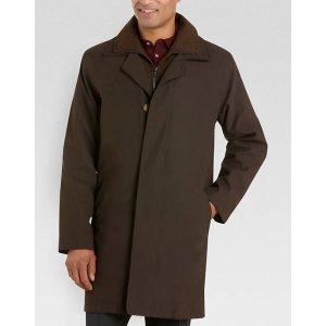Lauren by Ralph Lauren Olive Classic Fit Raincoat - Men's Raincoats   Men's Wearhouse