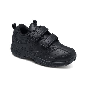 Stride Rite Black Cooper Strap Leather Sneaker | zulily