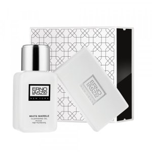 White Marble Double Cleanse Travel Set | ERNO LASLO | b-glowing