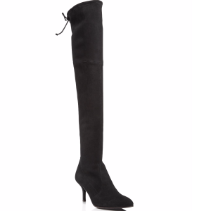 Women's Tiemodel Suede Over-the-Knee Boots