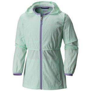 Girl's Athena Long Water Resistant Jacket | Columbia.com