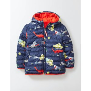 Fun Reversible Chilly Days 25126 Coats at Boden