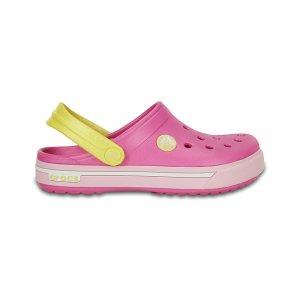 Crocs Party Pink & Ballerina Pink Crocband™ II.5 Clog | zulily