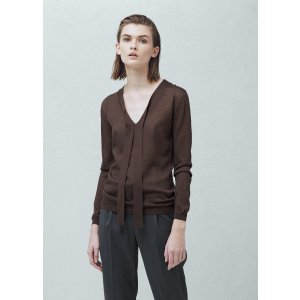 Bow collar sweater - Women | OUTLET USA