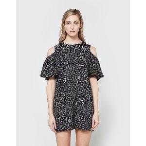 Ganni Greenville Jacquard Dress