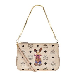 MCM Medium Rabbit Cross Body Bag