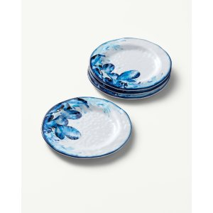Oyster Appetizer Plates - Set of 4