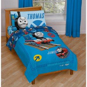 Thomas & Friends 4 Piece Toddler Bed Set - Disney - Babies