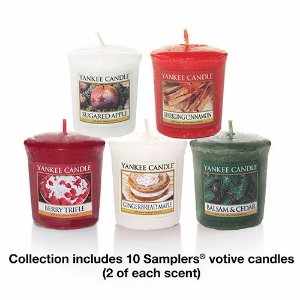 Holiday Favorites Samplers® Votive Collection Gift Set - Yankee Candle
