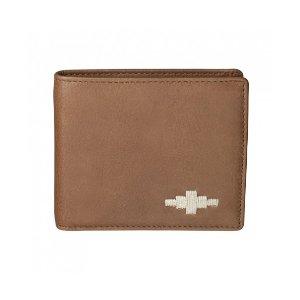 Pampeano 100% Leather Dinero Card Men's Wallet – Tan with Cream Diamond - Accessories | Unineed | Premium Beauty & Fashion