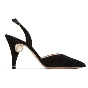 Nicholas Kirkwood: Black Penelope Pearl Heels