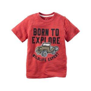 Born To Explore Graphic Tee