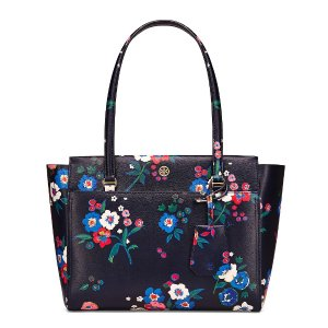 Tory Burch Parker Floral Small Tote