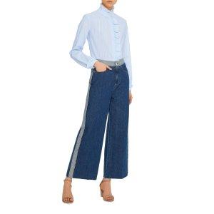 High Waisted Denim Trousers | Moda Operandi