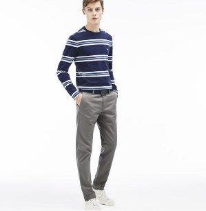 $54.99($110)Lacoste Men's Twill Chino Pants