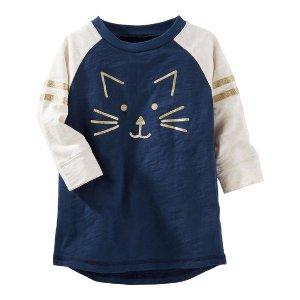 婴童猫咪上衣