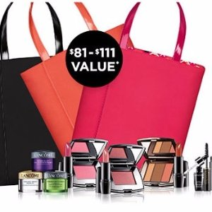 Free GWP (Up to $111 Value) on Lancome Purchases of $35 @ Belk