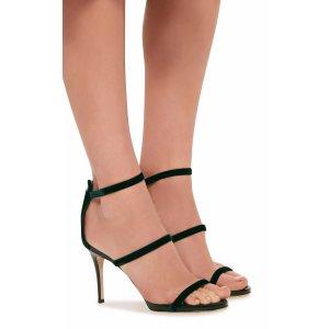 Veronica Velvet Sandals   Moda Operandi