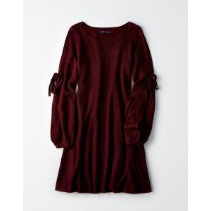 女士针织连衣裙