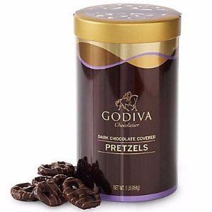 Dark Chocolate Covered Pretzels | GODIVA