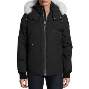 Canuck Fox Fur-Trimmed Ski Jacket