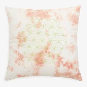 Tilayo Flower of Life Pillow Terracotta