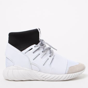 adidas Tubular Doom White & Black Shoes at PacSun.com