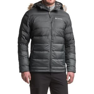Columbia Sportswear North Protection Omni-Heat® Down Hooded Jacket - 700 Fill Power (For Men)