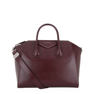 Givenchy Medium Antigona Patent Leather Tote Bag