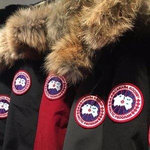8.5折 黑标也有双12独家:Canada Goose 男, 女款羽绒服热卖 天冷必备大鹅
