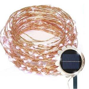 GRDE 防水LED太阳能装饰室内/外灯串