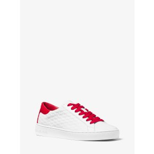 Colby Embossed-leather Sneaker