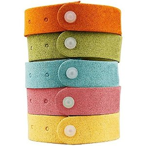 $1.65Yhmall Best Mosquito Repellent Bracelet 7 Pack- Natural Deet-Free Insect Bug Repellent Bands,Non-Toxic Safe For Kids,Indoor Outdoor Protection,Protection Up To 300 Hours